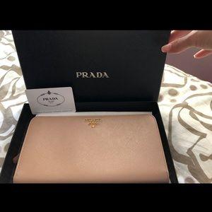 Handbags - Prada saffiano leather wallet